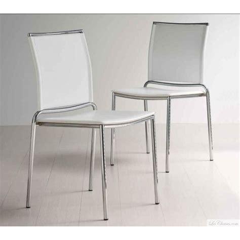 chaise de cuisine fly chaise blanche moderne fly et chaises moderne midj