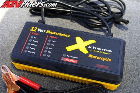 xtreme battery charger get your atv utv battery ready for the winter months