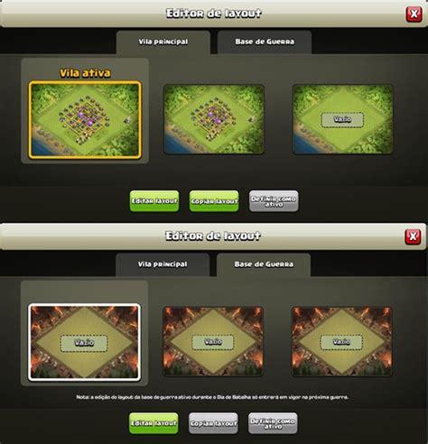 editing layout in clash of clans clash of clans atualiza 231 227 o de natal traz novo modo de