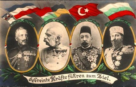 leaders of the ottoman empire ww1 postcard showing central powers monarchs f yeah