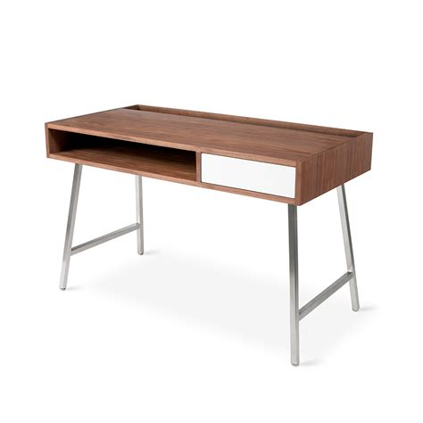 Blu Dot Junction Desk Grid Furnishings Modern Desk