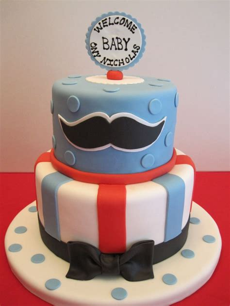 mustache cakes for baby shower baby shower mustache cake baby shower cakes