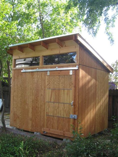 Sliding Roof Shed by Sliding Shed Door Of Gardens And Yards