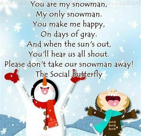 You Are My 5 you are my snowman winter so my