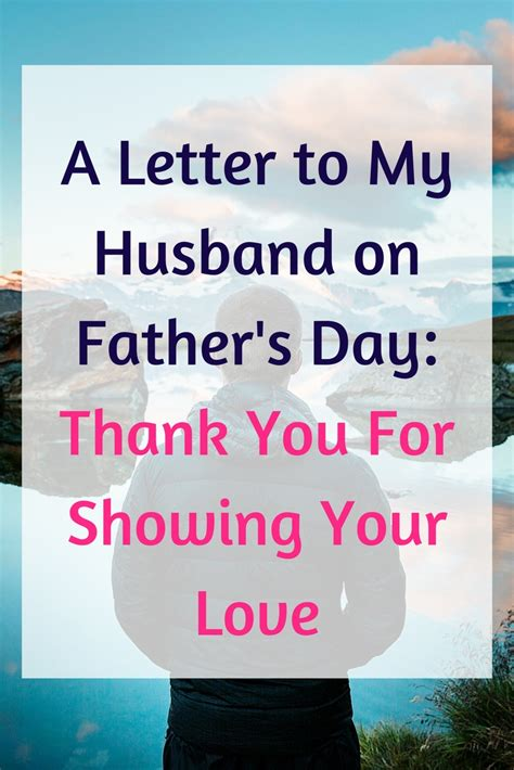 thank you letter to my husband on s day a letter to my husband on s day thank you for