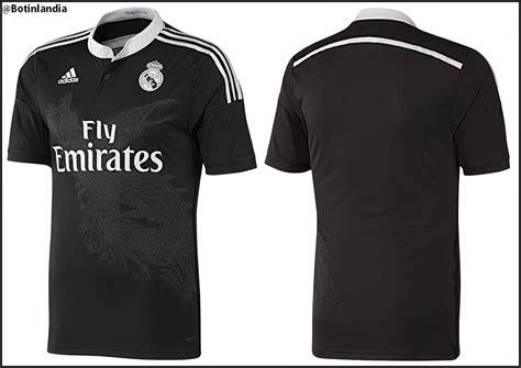 imagenes del uniforme del real madrid negro uniforme alternativo del real madrid 2014 15 medievals sport