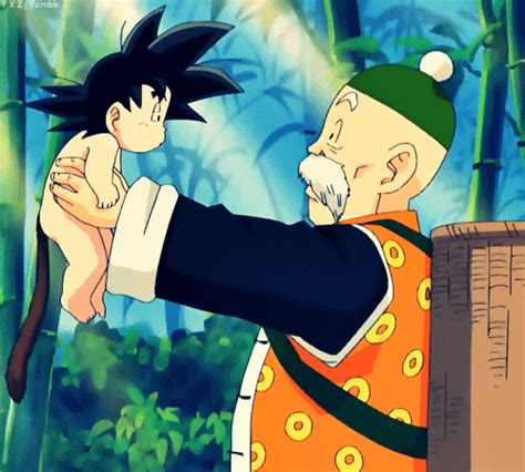 imagenes de goku cuando era niño goku granpa gohan dragon ball z photo 35593856