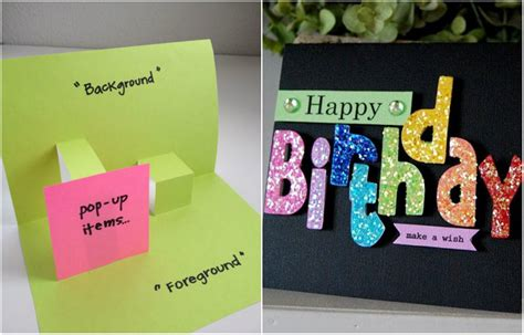 Birthday Cards For Handmade