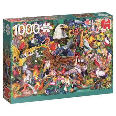 1000 Jigsaw Puzzles Jigsaw puzzle kingdom of animals jumbo 18568 1000 pieces jigsaw puzzles birds jigsaw puzzle