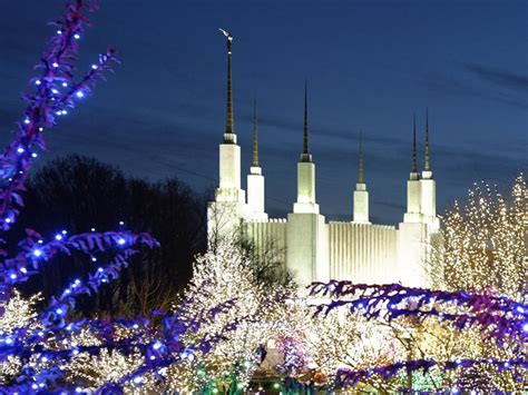 Best Holiday Lights Near Dc Roman Reboot Mormon Temple Lights