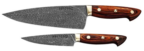 damascus kitchen knives for sale bob kramer euro chef utility knives in damascus steel
