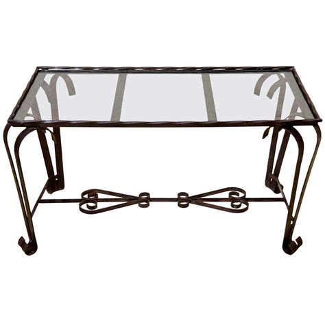 Glass And Wrought Iron Coffee Tables X Jpg
