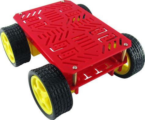 Kit Motor Shoo Sachet 18x15ml 4 wheel drive simple robot base