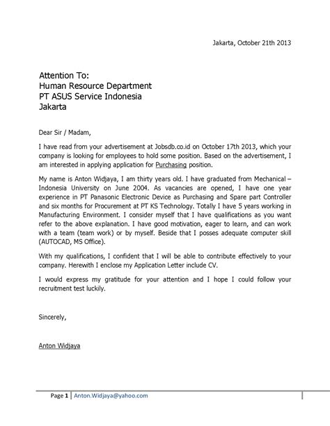 application letter for fresh graduate in accounting cover letter fresh graduate human resources cover letter