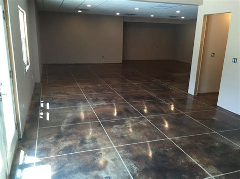 Highlands Concrete Finishers   Metallic Epoxy Floor Resin
