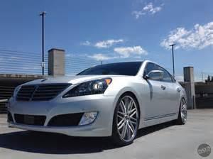 Custom Hyundai Equus Project Description