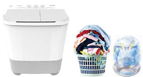 Sharp Est75mw Mesin Cuci 2 Tabung Khusus Jabodetabek jual sharp est65mw pk mesin cuci putih 2 tabung 6 5 kg