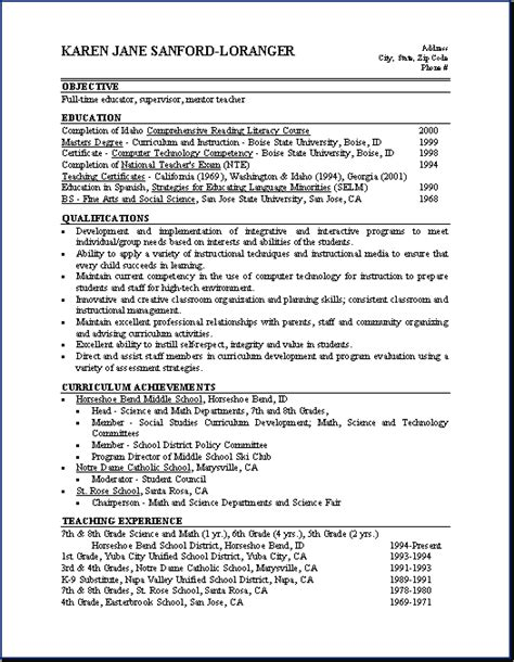Qualifications Resume Exles by Resume Skills And Ability Exles Resume Template 2017