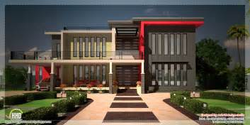 House Plans Contemporary by Beautiful Contemporary Luxury Villa With Floor Plan