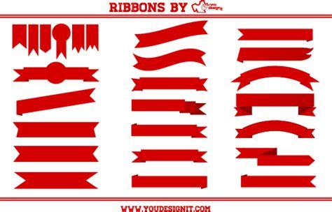 ribbon designer cintas descargar vector