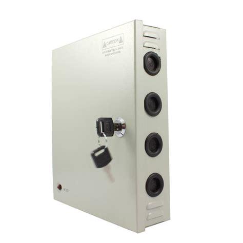Adaptorpowersuply 10 A 12 Volt 12 volt voedingskast 10 000 ma 10a metalen behuizing