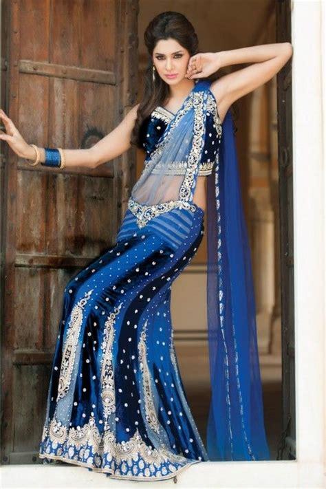 lilim darkness wedding blue royal blue lengha indian wedding dress