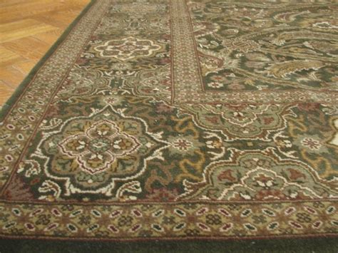 Soft Wool Rug by Green 8x10 Made Jaipour Rug Dense Soft Wool Pile Ebay