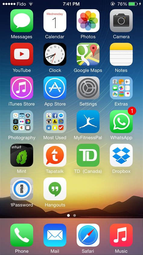 post your ios 8 screenshots here page 2 macrumors forums