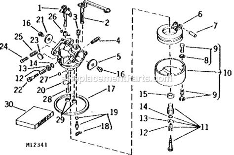 deere 826 snowblower parts diagram deere snowblower parts diagram images