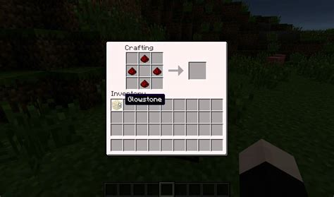 minecraft how to make a redstone l lighting and