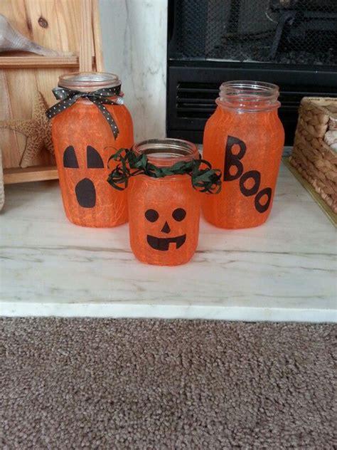 halloween mason jars craft