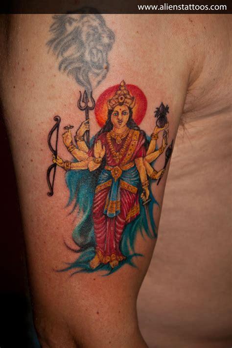 durga tattoo studio jogja goddess durga tattoo inked by sunny at aliens tattoo mumbai
