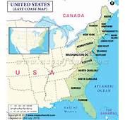 Johnnyroadtrip Com East Coast United States Map  TravelquazCom &174
