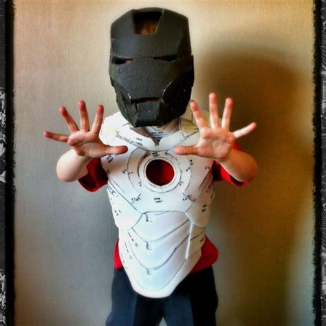 progress pic kids foam iron man suit diy iron