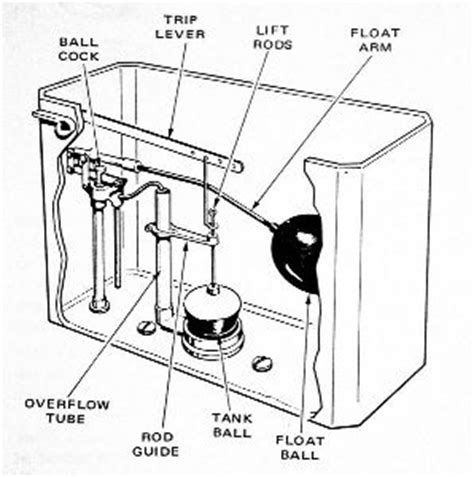 Basic Plumbing Repair by Plumbing Basics Learning The Parts Of A Toilet Carney