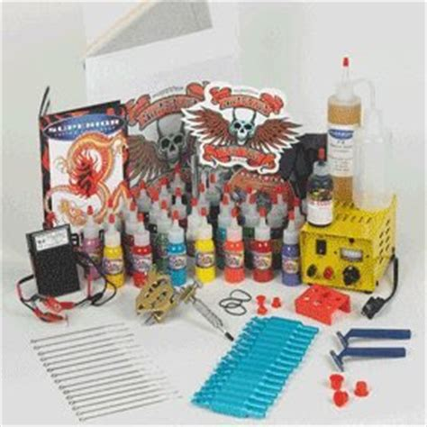 tattoo kit with everything tattoo kits everything you need to start tattooing