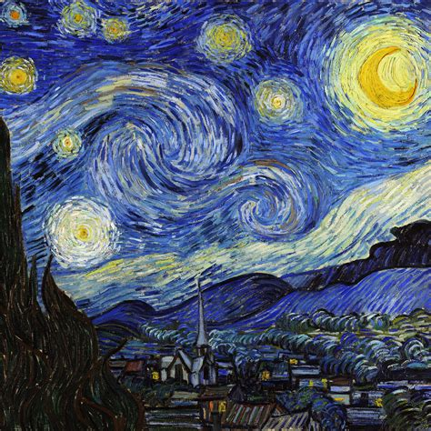vincent gogh research paper aj42 vincent gogh starry classic painting