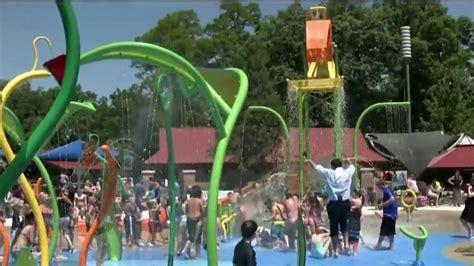 dodge park  sterling heights reopens   splash pad