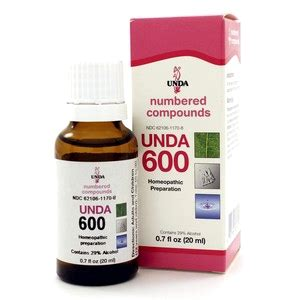 Unda Homeopathic Detox by Unda 600 20ml By Seroyal Unda