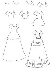 drawing princess dress