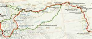 Lewis And Clark Route Map by Maps Lewis Amp Clark National Historic Trail U S