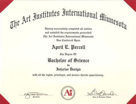 Interior Design Degree At Home april percell education