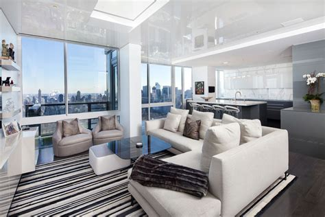 modern nyc apartments gorgeous modern apartment above the new york city architecture beast