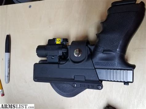glock 17 light and laser armslist for sale glock 17 with extra mags laser
