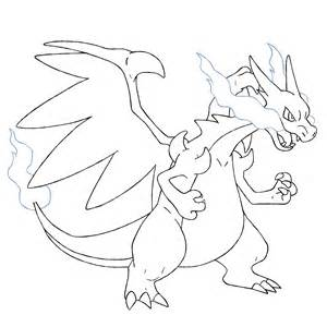 mega charizard coloring page coloring pages mega charizard coloring home