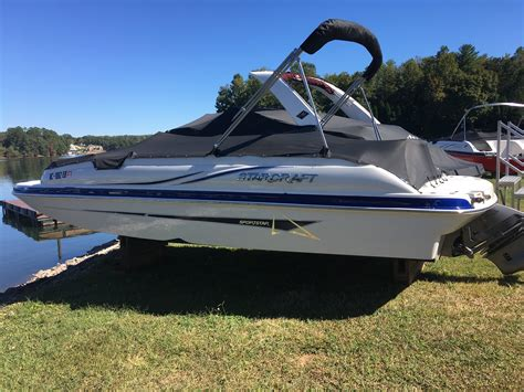starcraft deck boats for sale florida used deck boat starcraft 2000 limited boats for sale