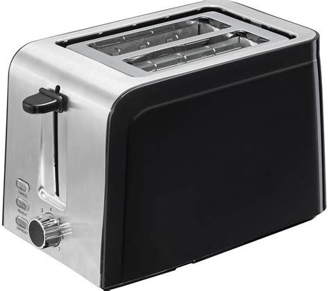 buy stainless steel buy logik l02tss17 2 slice toaster black stainless