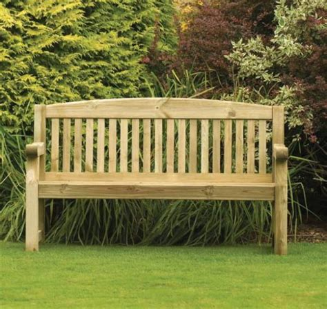 wooden garden benches sale athol chunky 5 foot wooden garden bench brand new autumn
