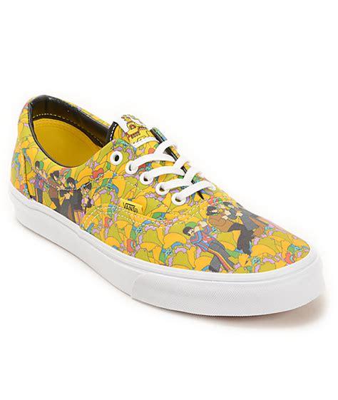 the beatles x vans era yellow submarine the garden shoes