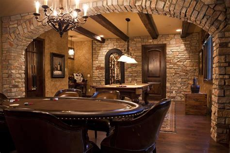 interior brick arch basement decorating idea pinterest